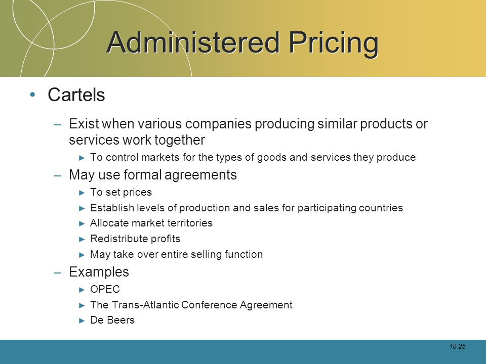 distinguish between administered prices and price controls Start studying busml 3150 final learn vocabulary d exchange controls occurs when a seller states prices or price savings that mislead consumers or are not.