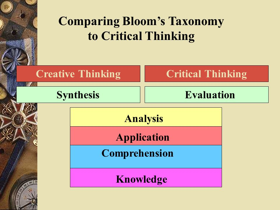 applied critical and analytical thinking Critical thinking 1 written by applied by ordinary people to the ordinary world this is true because critical thinking replicates this well‐known method of.