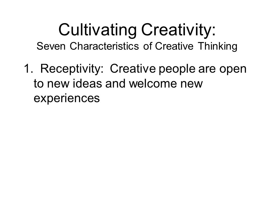 characteristics of critical thinking ppt