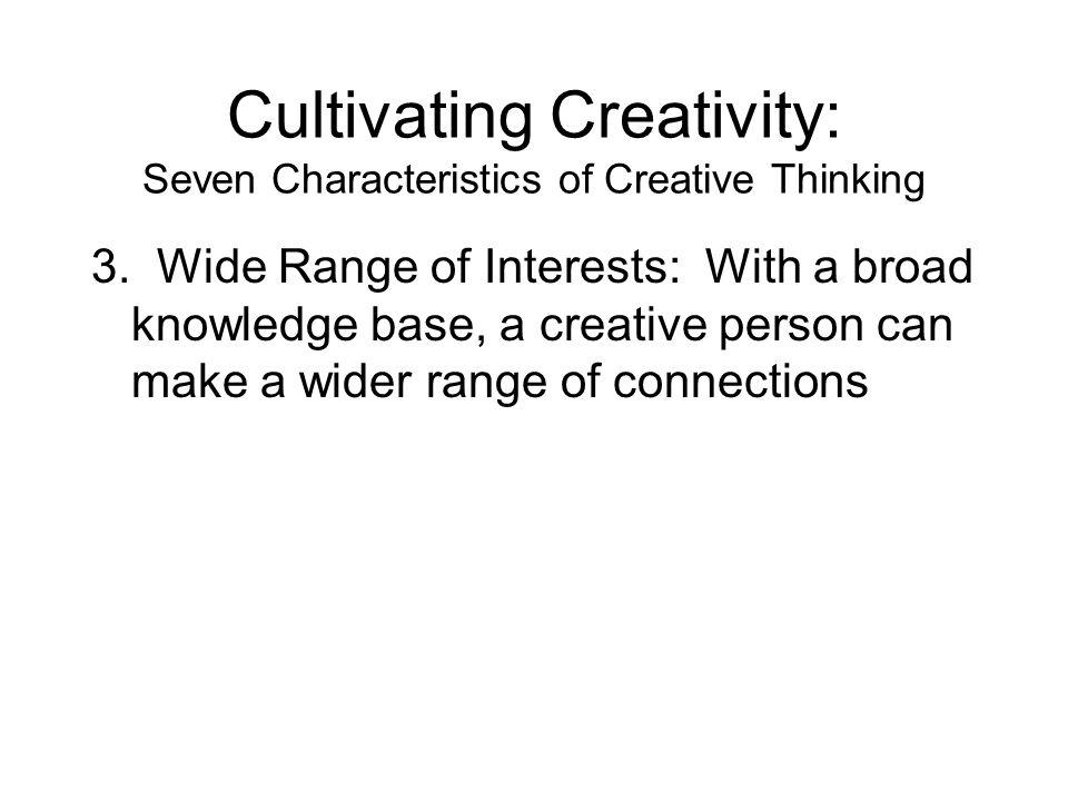 characteristics of a creative person pdf