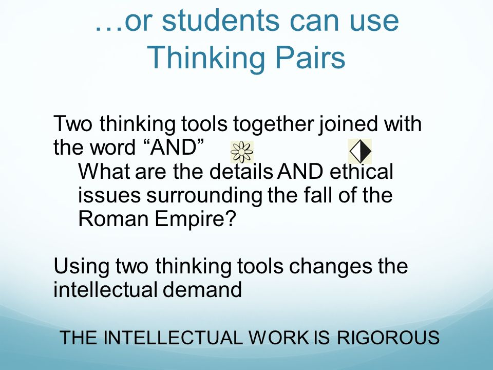 using critical thinking at work Examples of critical thinking critical thinking is based on logic and objectivity, strategic problem solving and planning it entails using judgment, assumptions and reasoning to come up with innovative solutions to problems or situations.