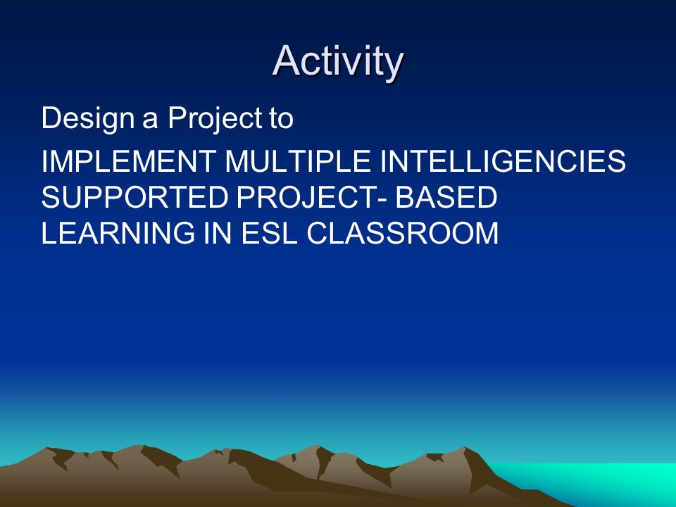 Classroom Design Project Based Learning ~ Project based learning ppt video online download