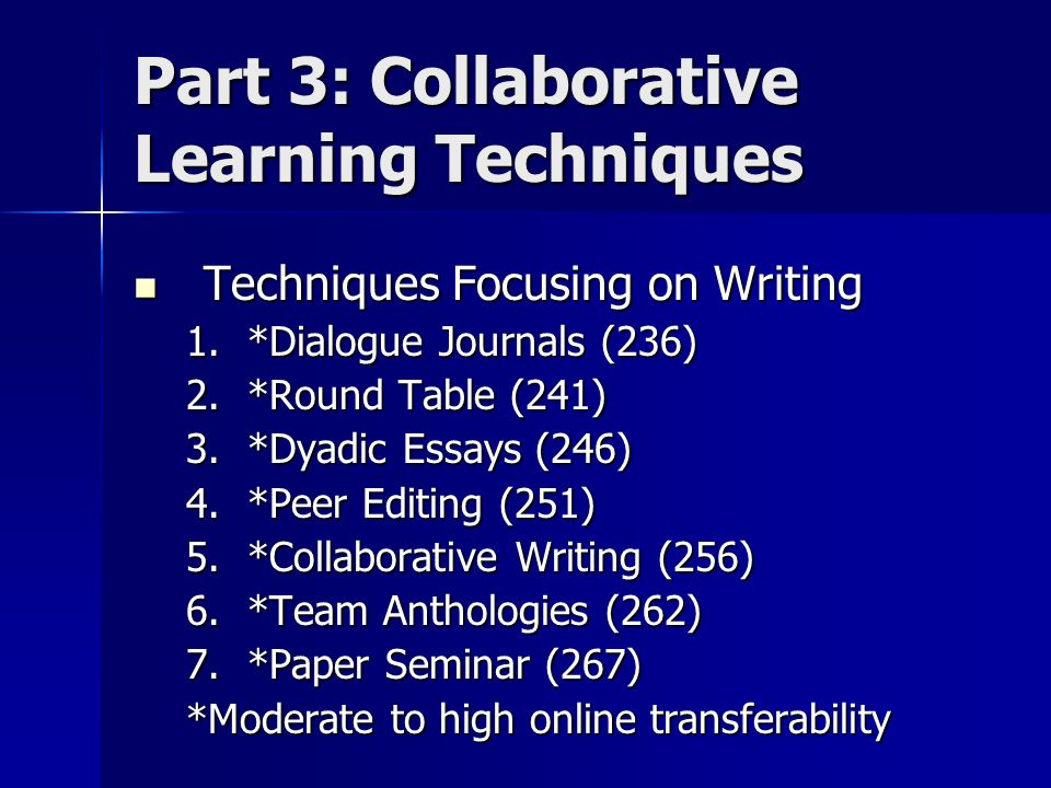 Collaborative Learning Techniques Classroom ~ By elizabeth f barkley k patricia cross and claire