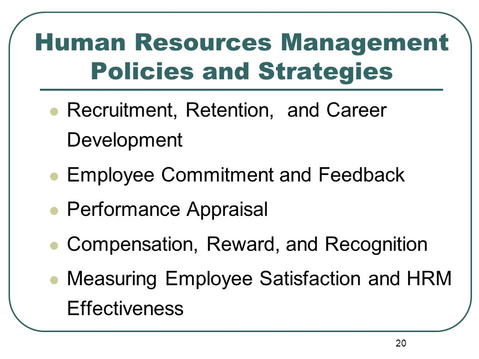 the focus on employee commitment and loyalty in hrm Employee engagement: a literature review sandeep kular,  'one step up from commitment' as a result, employee engagement has the  whilst the focus of job.