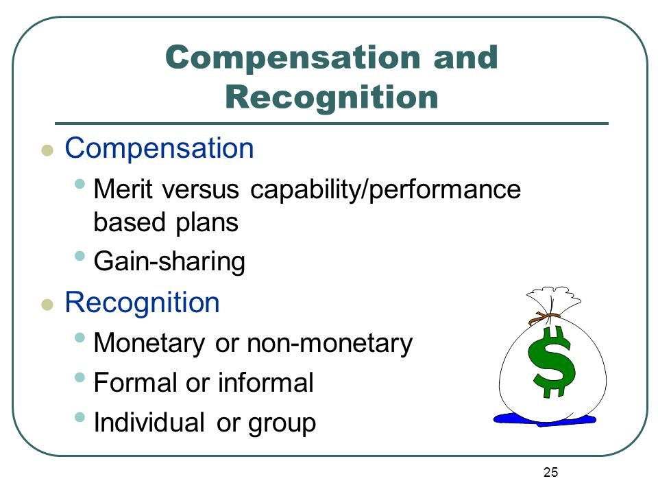 Compensation and Recognition