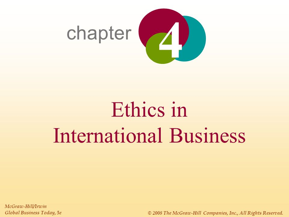 international business ethical practices And ethical issues in international business description of what practices are expected 1 adapted from the international business ethics institute and the.