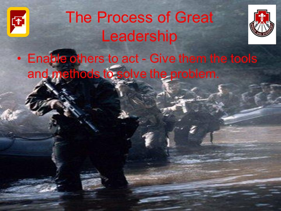The Process of Great Leadership