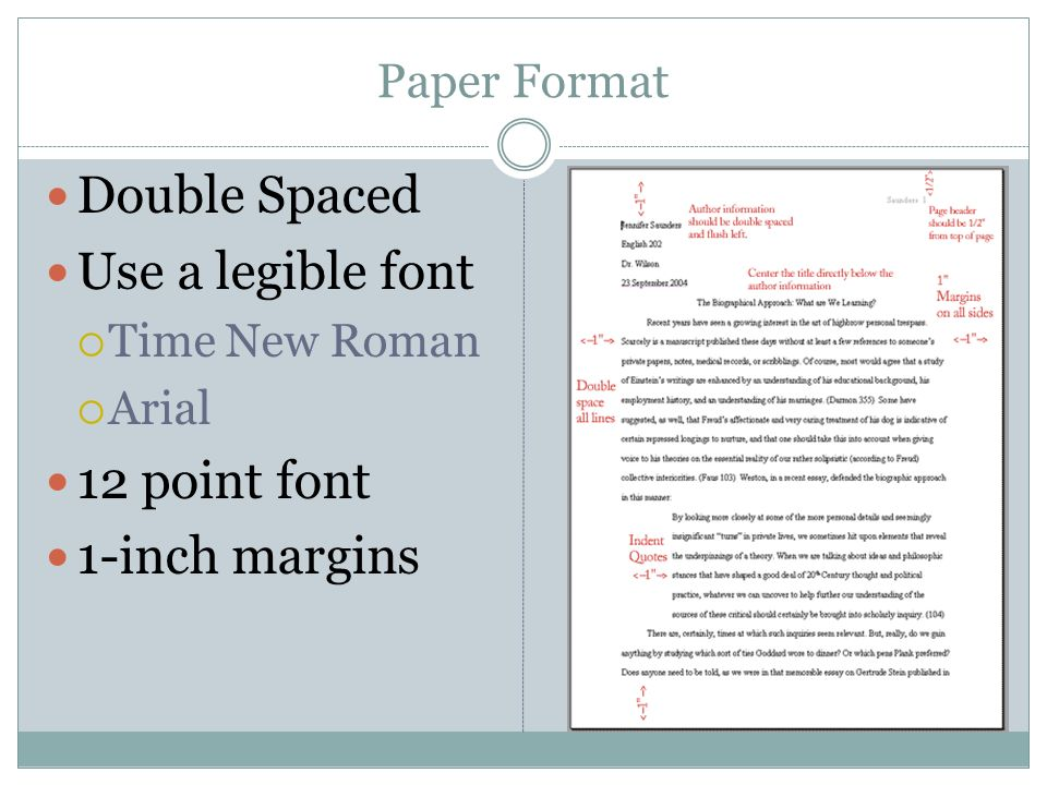 A Guide to APA Research Paper Spacing