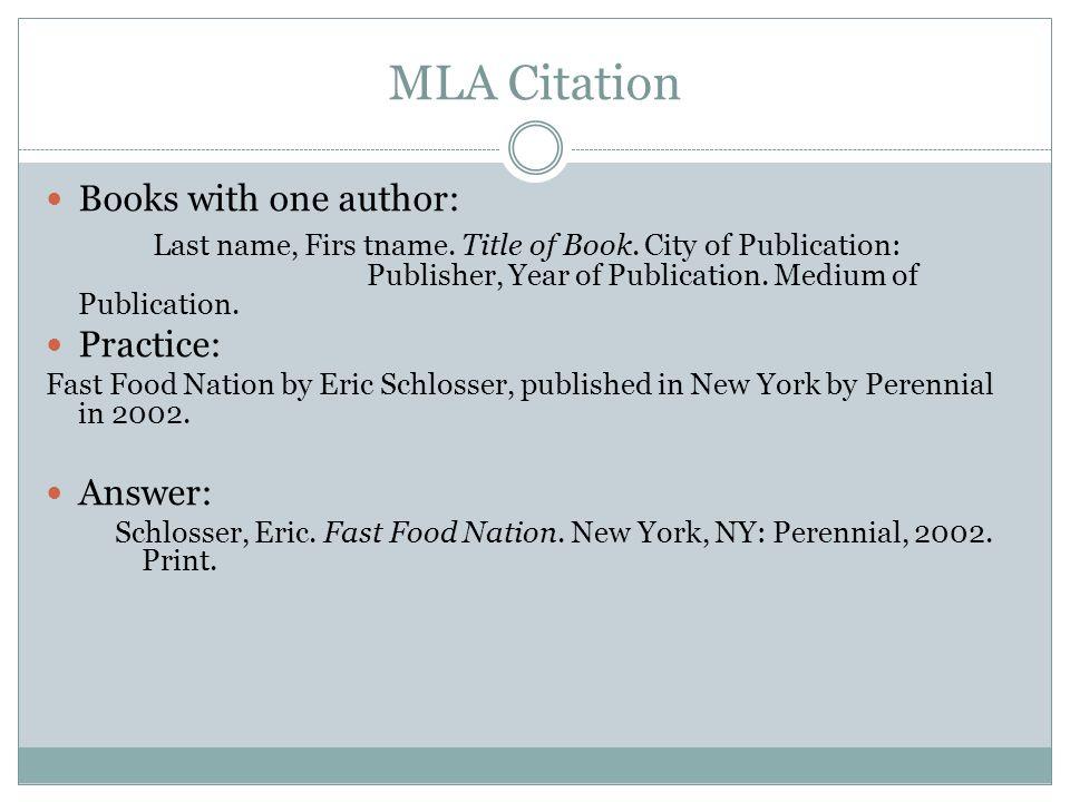 free mla citation generator