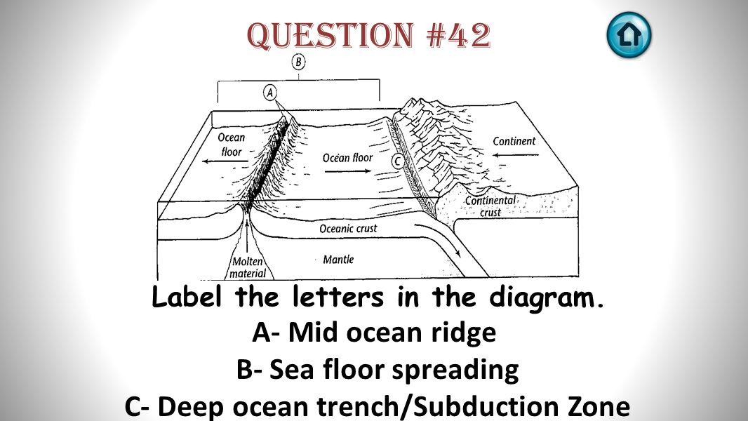 Time for the bellringer board ppt download for Ocean floor zones diagram