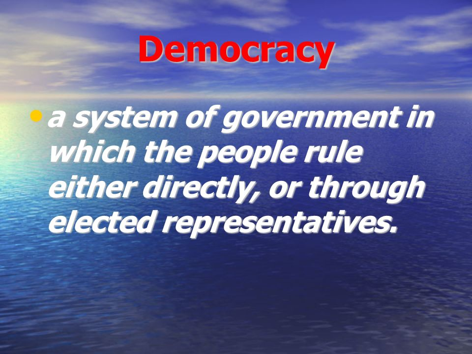 democratic regime and peoples interests essay The present american regime: tyranny, oligarchy, or democracy  it was out of this democratic regime that tyrannies developed  george carey wrote in his 2001 essay who or what.