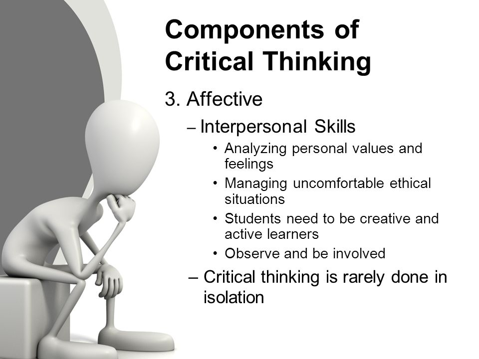 value of critical and creative thinking in the society Critical and creative thinking are the keys to work and economic prosperity in the   the importance for freshmen to begin under high expectations for critical and.