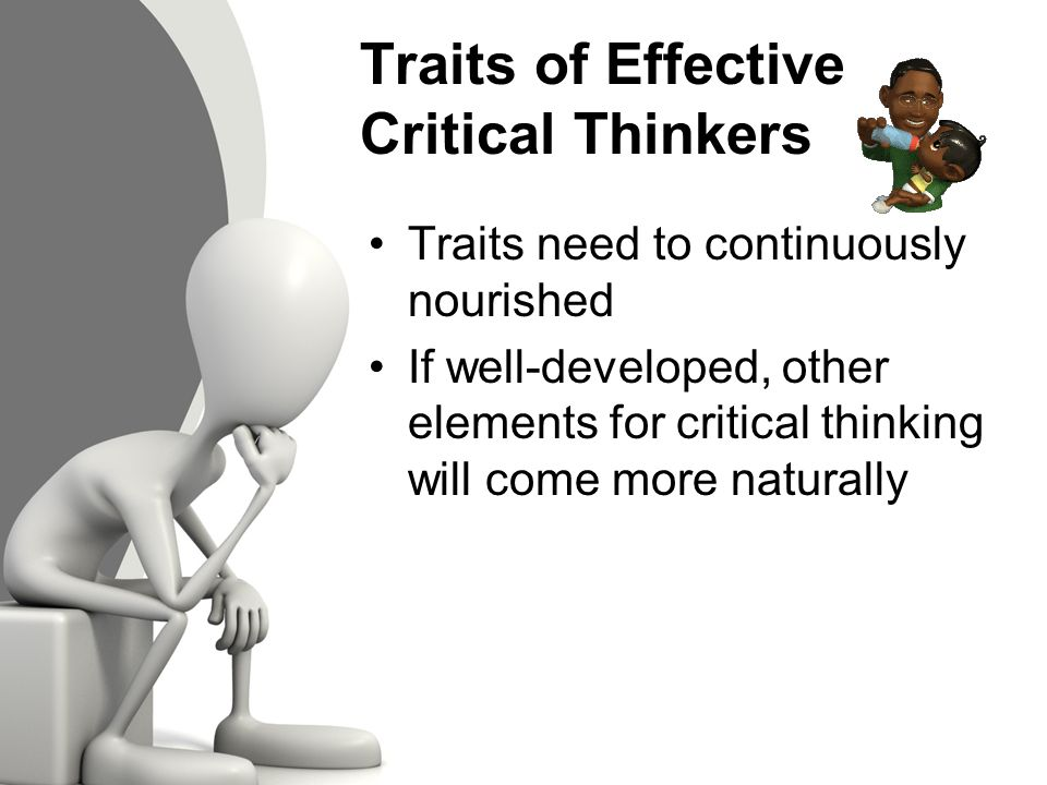 Infographic titled  Questions a Critical Thinker Asks   From the top  text  reads