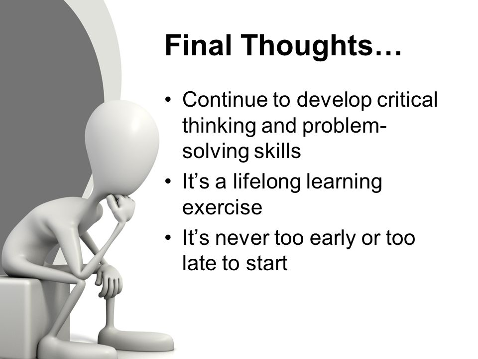 nursing critical thinking exercises Allowing students room to think deeply and discuss openly during critical thinking activities is the key to them taking true responsibility for the learning through these kinds of activities we foster real thinkers and life-long learners.