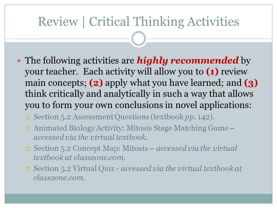06 07 review and critical thinking Rent textbook think with socrates an introduction to critical thinking by herrick, paul - 9780199331864 due 06/07/2018 short term.