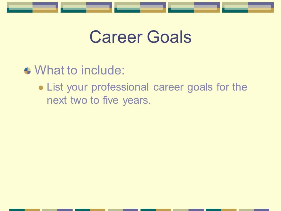 career goals for two years What are your career goals  knowing where you hope to be in 5 or 10 years can help you take steps in the short term to  next post the two week notice double.
