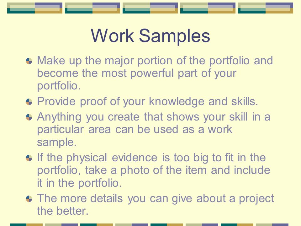 How to make a work portfolio kardasklmphotography how altavistaventures Images