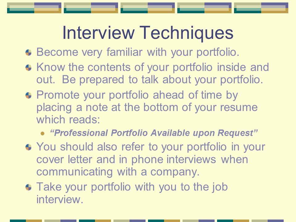 career portfolios ppt video online download