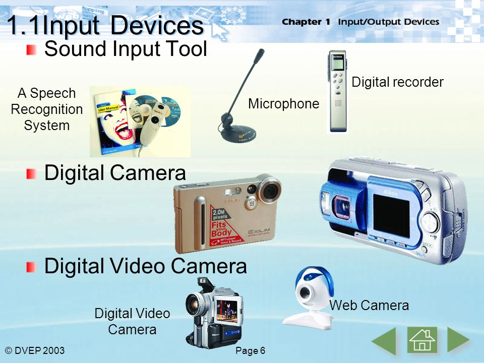 Chapter 1 Input / Output Devices - ppt video online download