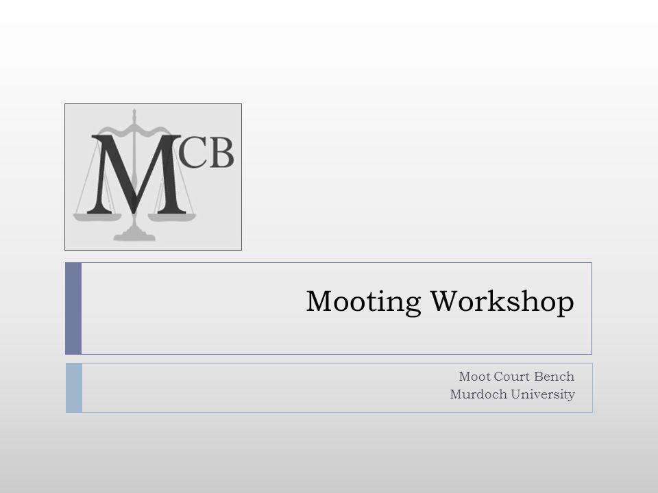 Moot Court Bench Murdoch University