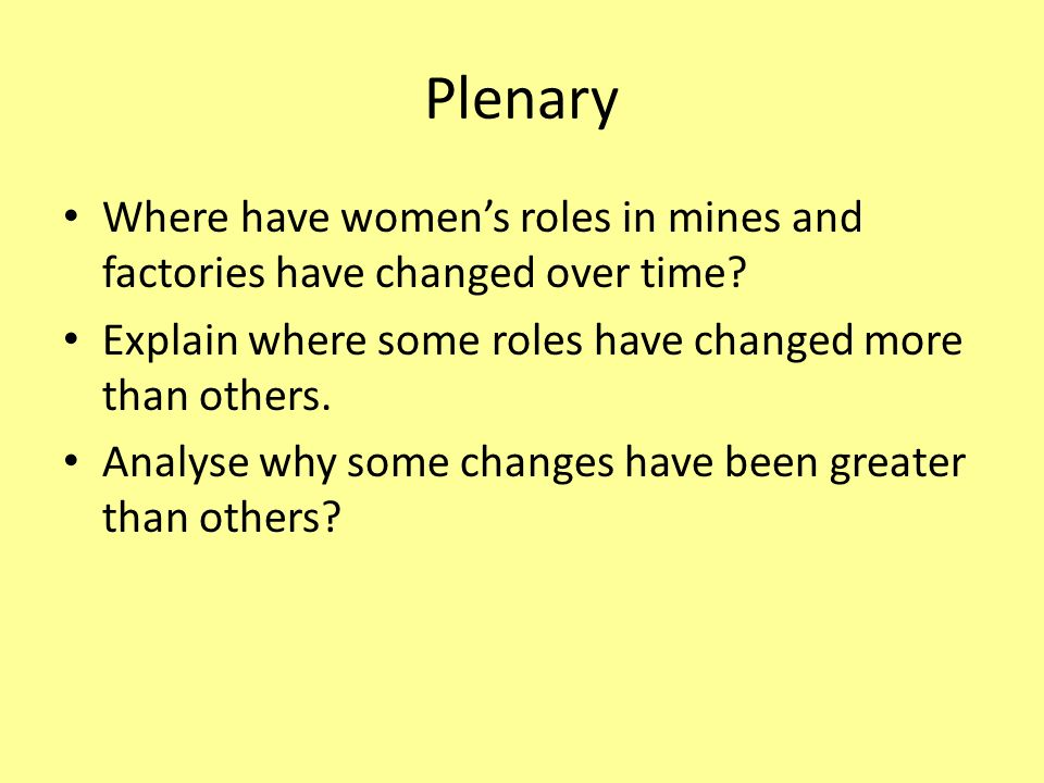 how women roles have changed in recent times Review of recent research findings suggests that women have redefined their   and family heads: the changing family roles of women, in na - advances in   volunteer work in schools and hospitals fringe benefits of part-time jobs social.