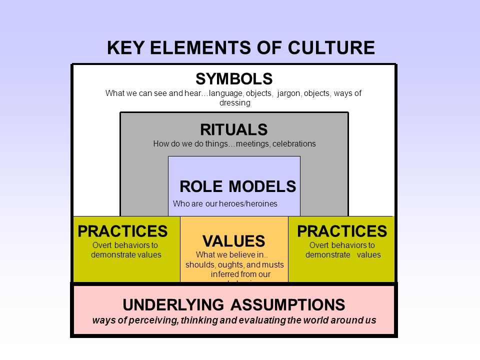 Elements of Culture: Explanation of the Major Elements That Define Culture