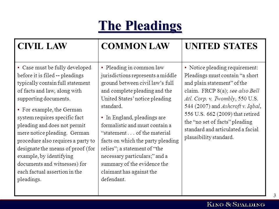 what is a pleading in law