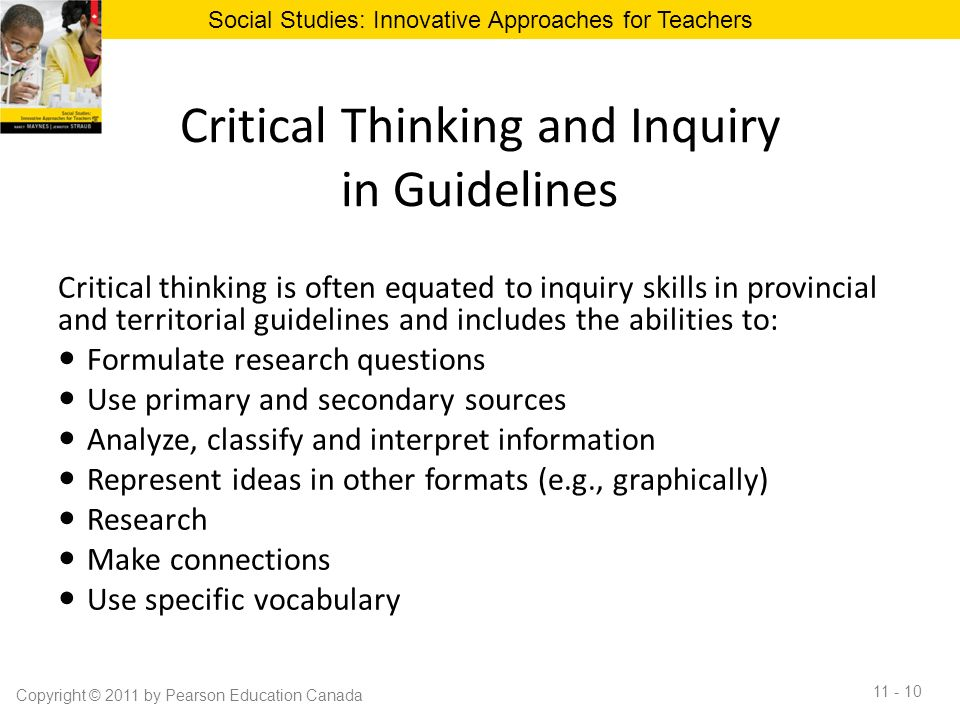 critical thinking questions for middle school students Teachers use a number of techniques to help students learn critical thinking critical thinking: ask open-ended questions preparing for middle school.