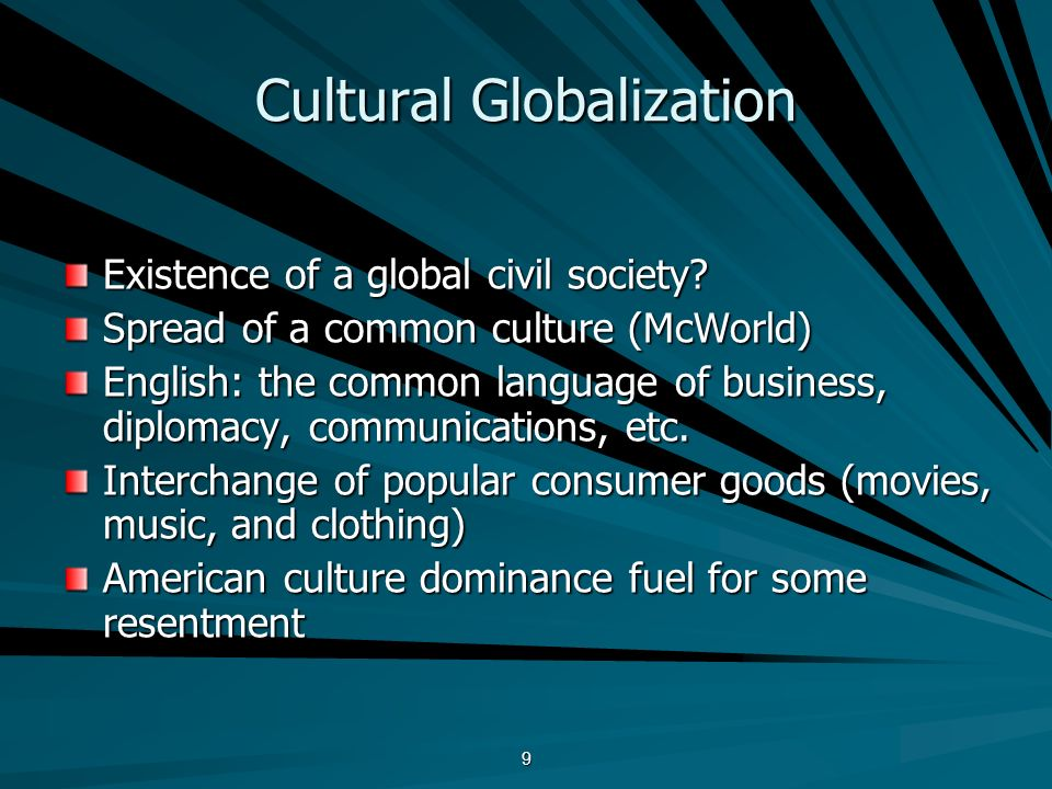 globalization of consumer culture essay Free essay on globalization of culture: diversity or homogenizization available totally free at echeatcom, the largest free essay community.