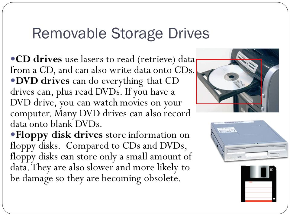 Removable Storage Drives