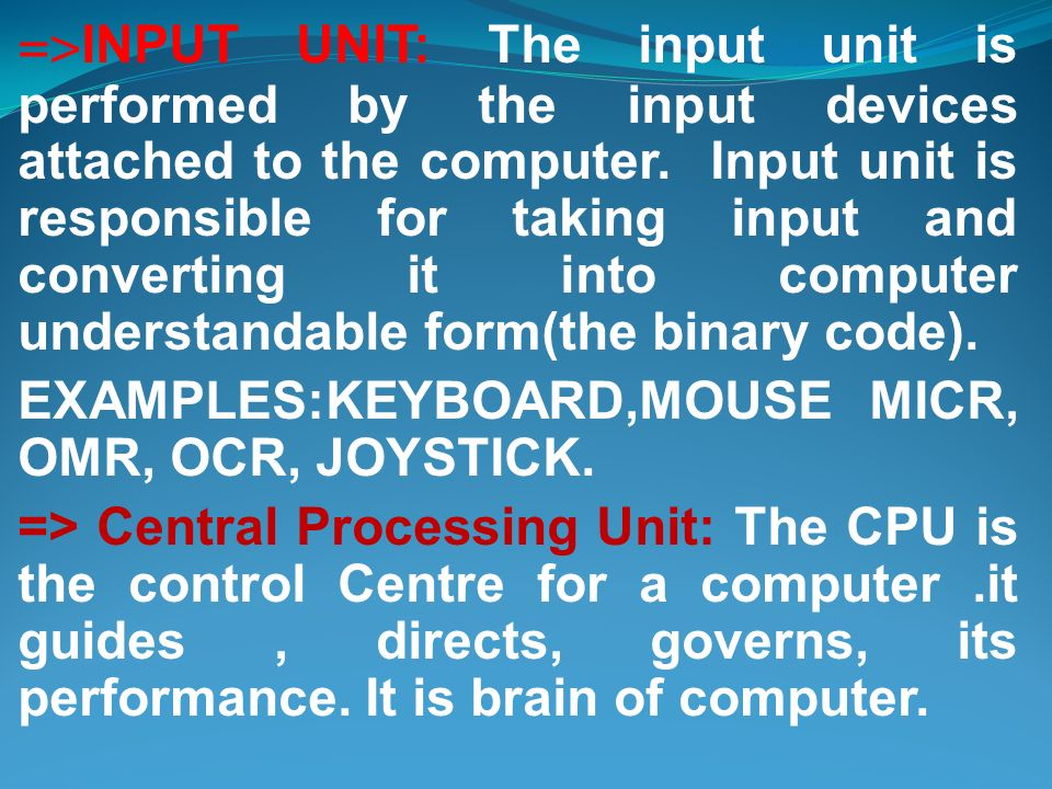 What is a computer? Monitor Floppy Disk Drive System Unit CD-ROM ...
