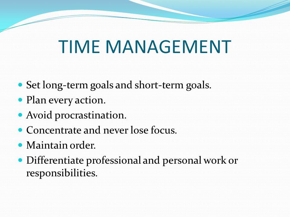 Long And Short Term Goals : Qualities of an ideal teacher ppt video online download