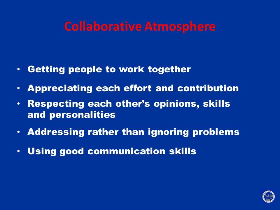 Collaborative Atmosphere