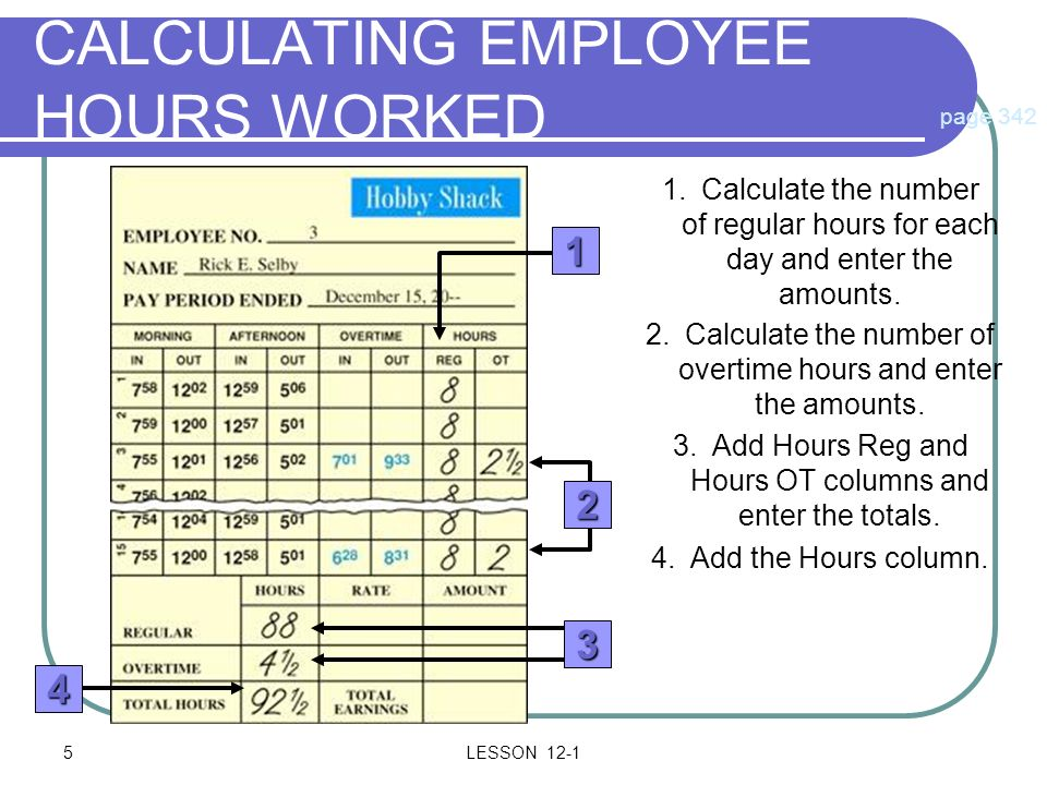 Preparing Payroll Records  Ppt Download