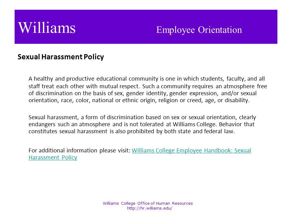 sexual harassment is not tolerable essay If i had not been interested in my husband's advances, would that have been  harassment was it harassment anyway, since he was my boss.