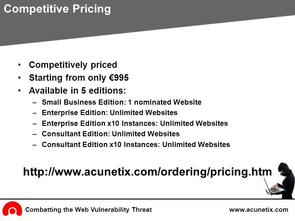 acu ix web vulnerability scanner   ppt video online download