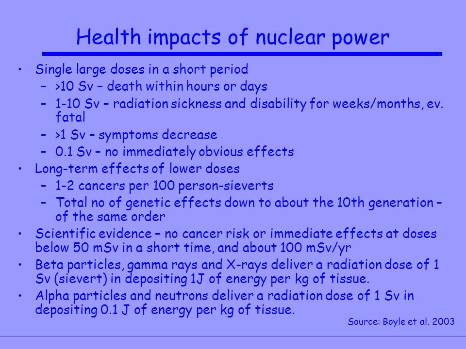 an analysis of the effects of nuclear energy on the environment The biggest concern associated with a nuclear power accident is the negative effects that of radioactive waste, such as spent nuclear nuclear energy and how.