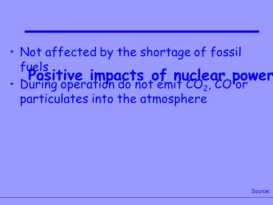 the negative impacts of nuclear power Impact of nuclear power plants misam jaffer  and has several other negative effects on the region's vegetation  among other impacts that it can have on.