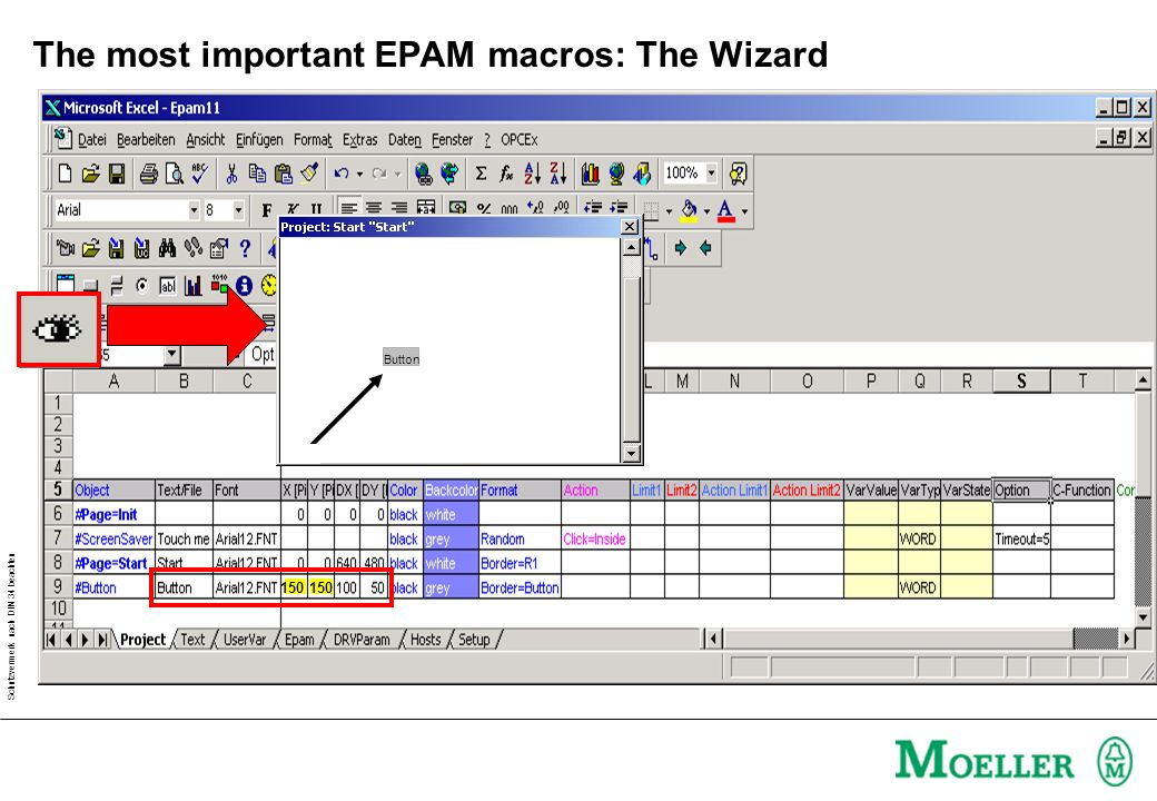 The most important EPAM macros: The Wizard