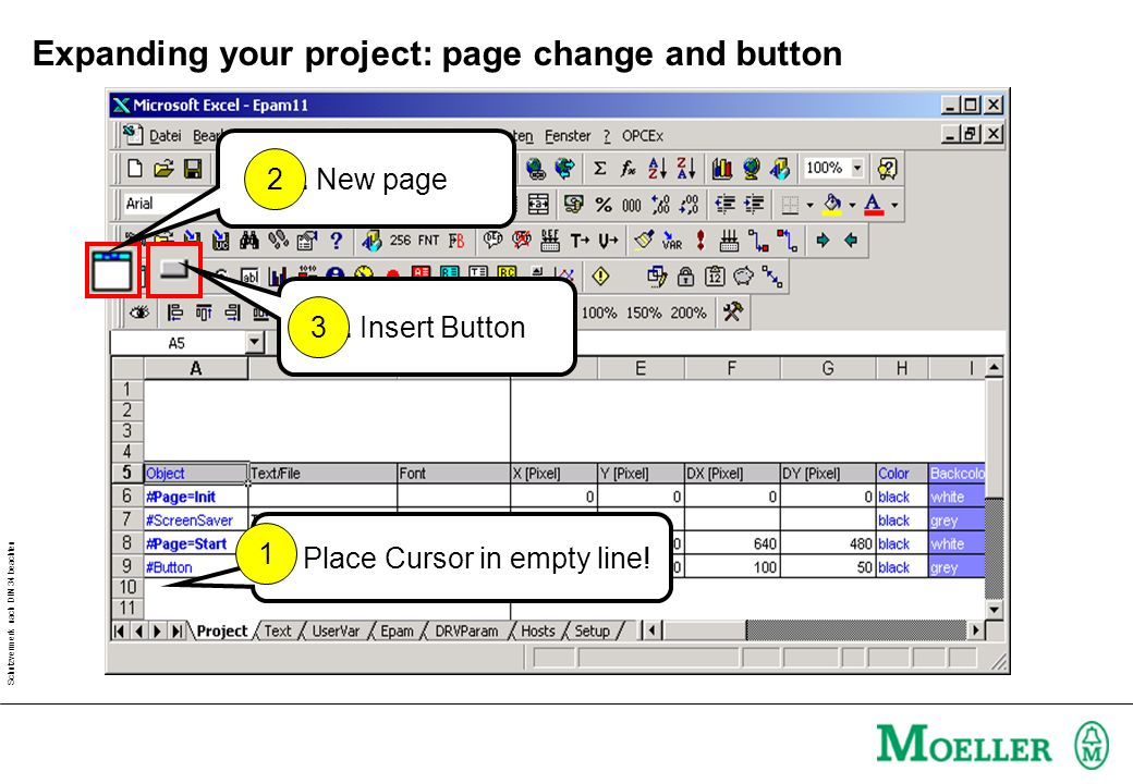 Expanding your project: page change and button