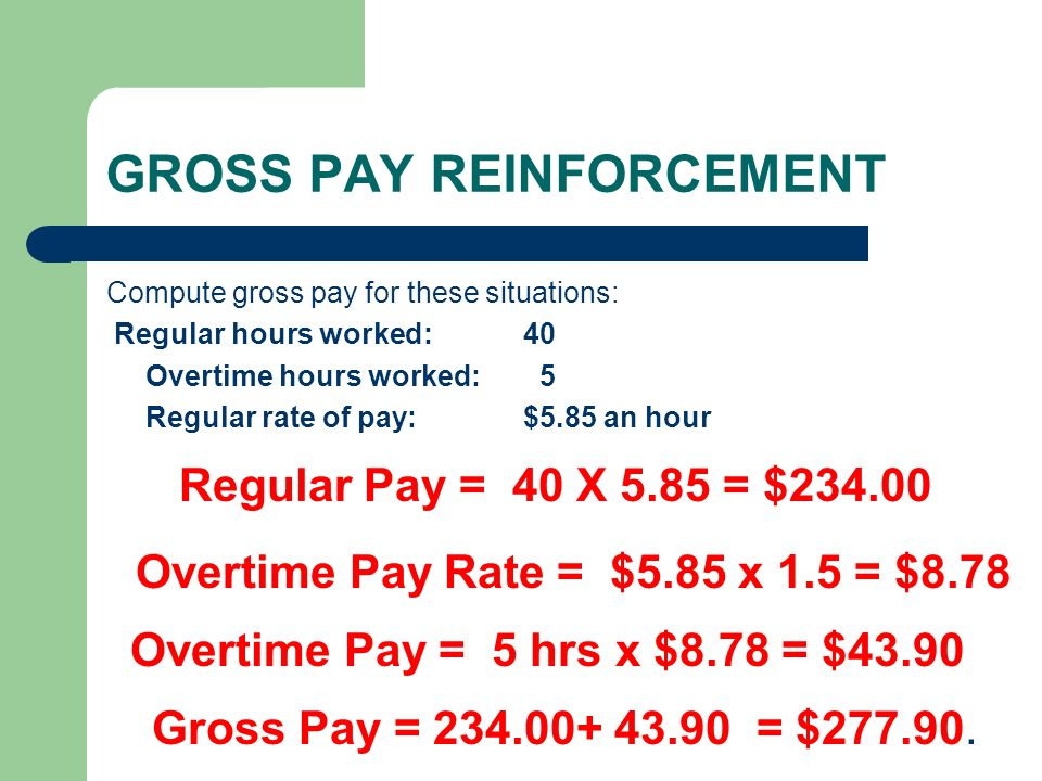 Payroll Overtime Calculator Funfndroid