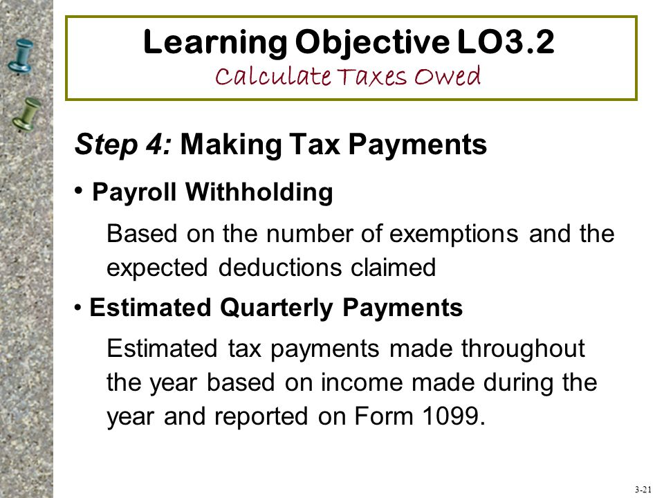 prime objectives of tax planning Proper retirement tax planning and modeling is critical, and the watson cpa group can help we recently had a couple with nearly $15m in pre-tax retirement savings in their 401k's throughout the years this couple had marginal income tax rates of 15%, 25% and 28.