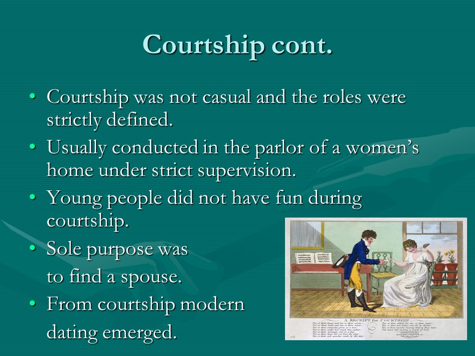 Courtship and dating ppt 10
