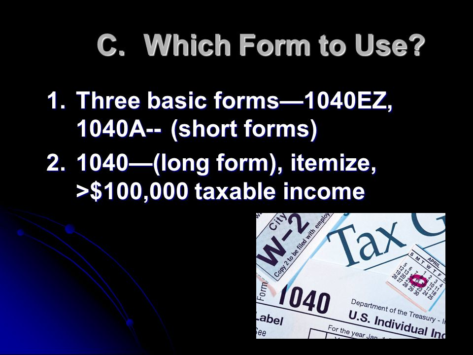Chapter 7 Federal Income Tax Ppt Video Online Download