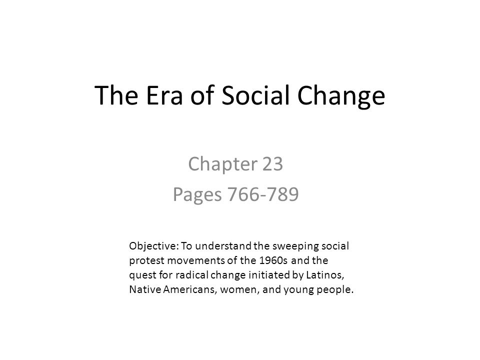 social changes in america in the 1960s The decade of the 1960s was a period of significant social change  even so,  during the early 1970s, britain admitted 28,000 people of indian origin who had.