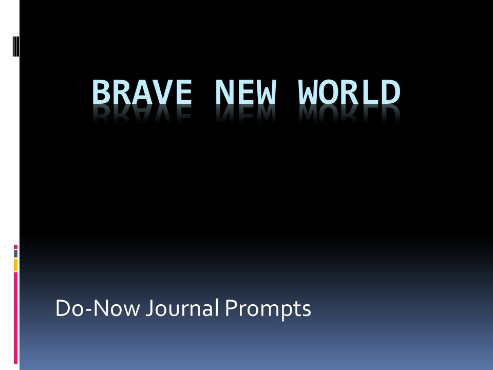 brave new world use of technology to control society essay The use of technology to control society in brave new world warns of the dangers of giving the state control over new and powerful technologies .