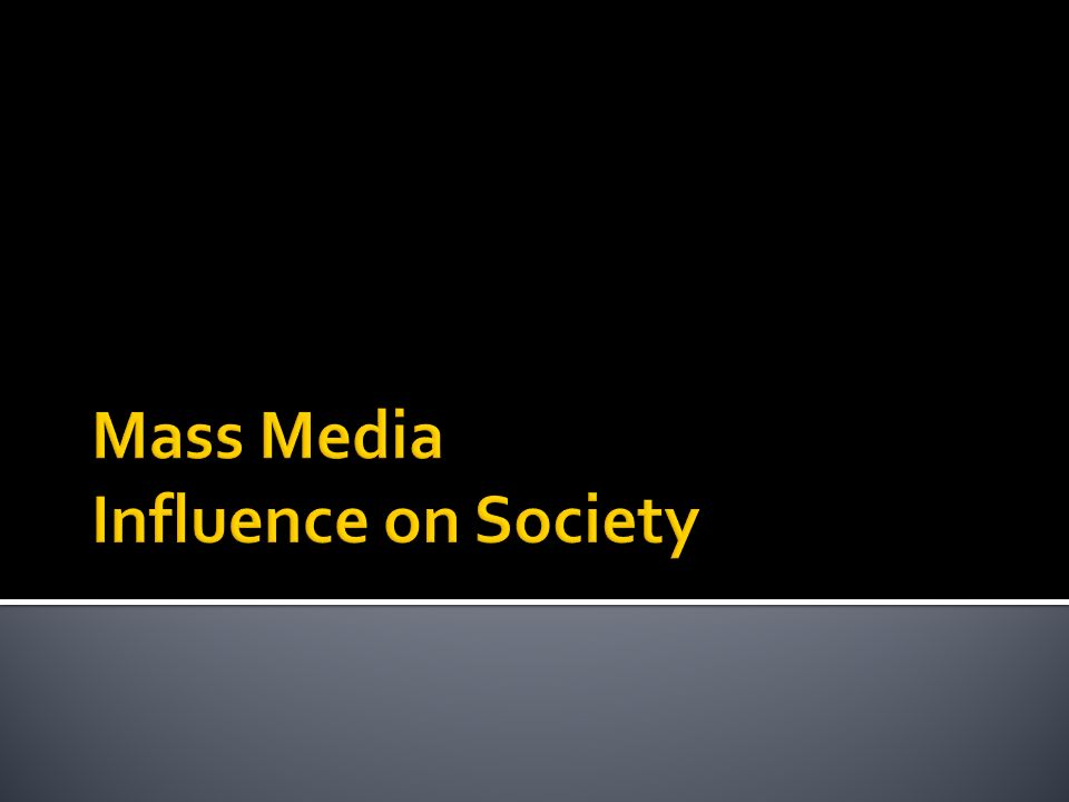 the medias influence on society As a society, social media impacts our daily lives in ways that we could have never imagined five years ago 81 percent of divorce lawyers have confirmed an increase in cases using social networking e.