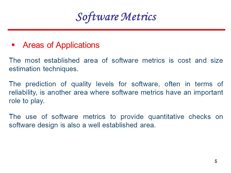 Software Metrics. - ppt download