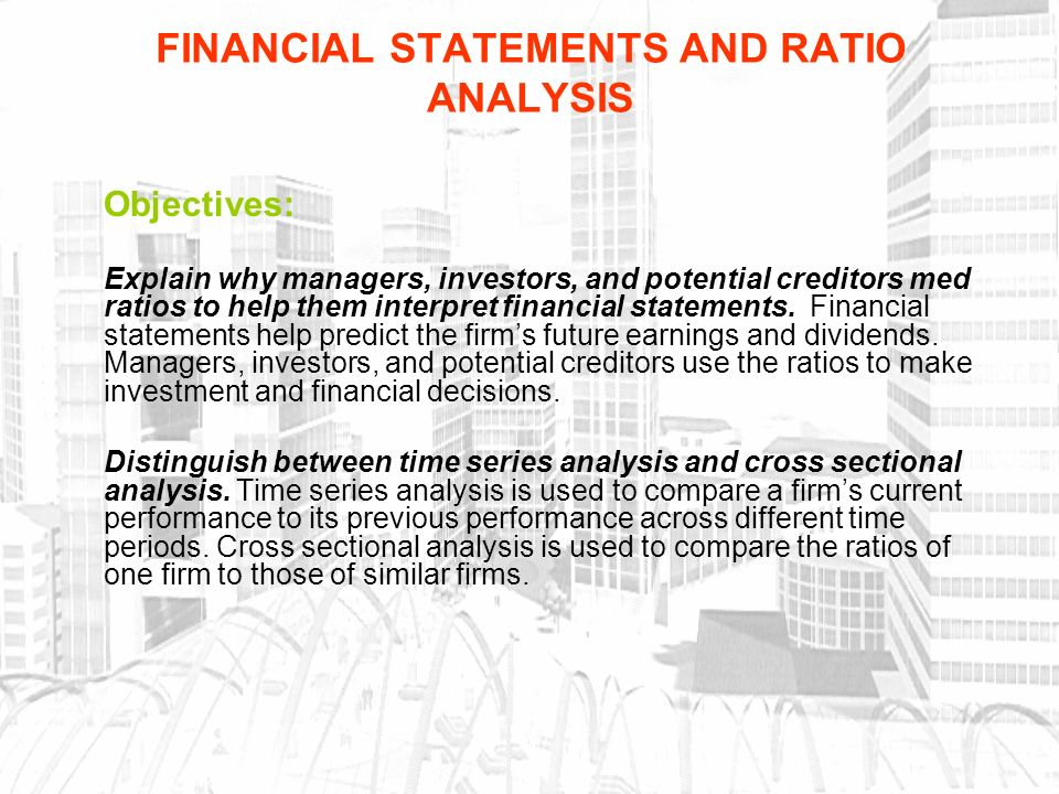 Financial Statements And Ratio Analysis  Ppt Download