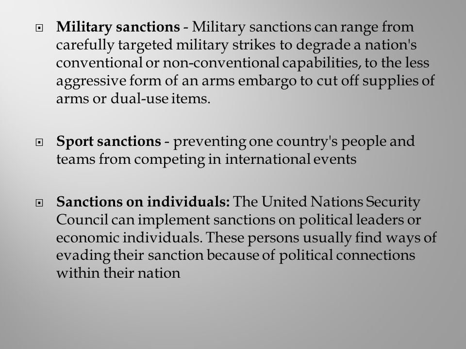 "an analysis of the effectiveness of the united nations sanctions against iraq Executive summary  see james d fearon, ""iraq's civil war,"" foreign affairs 86 , no  imposing sanctions increases effectiveness, so do  studies (geneva)  on united nations sanctions and international law, june 1999."